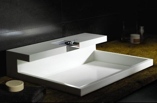 Contemporary style basin