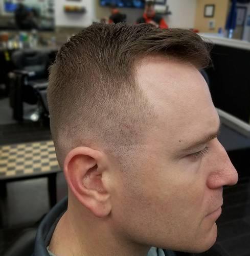 Crew Cut Thin Hair