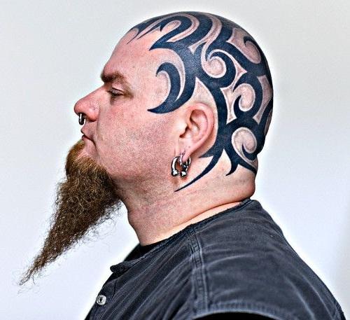 Tribal Head Tattoos