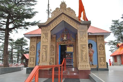 Jakhoo Temple In Shimla