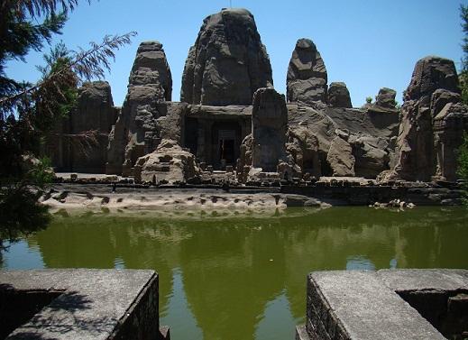 Masroor Rock Cut Temple In Masroor