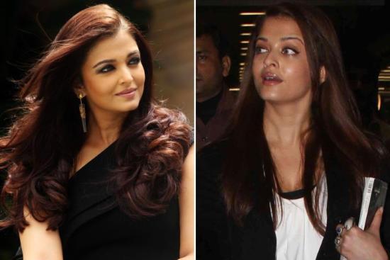 9 Pictures Of Aishwarya Rai Without Makeup - I Fashion Styles