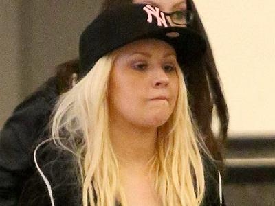 christina Aguilera without makeup2