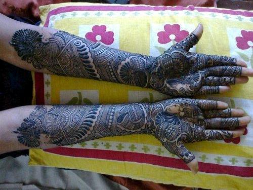 Nikhil Mehndi Designs