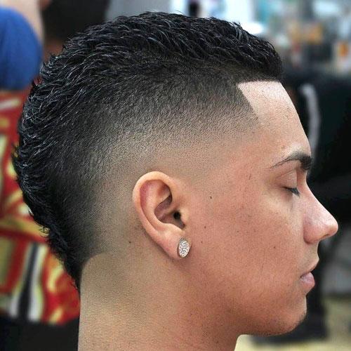 Burst Fade Mexican Haircuts