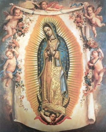 Praying Mary Tattoos