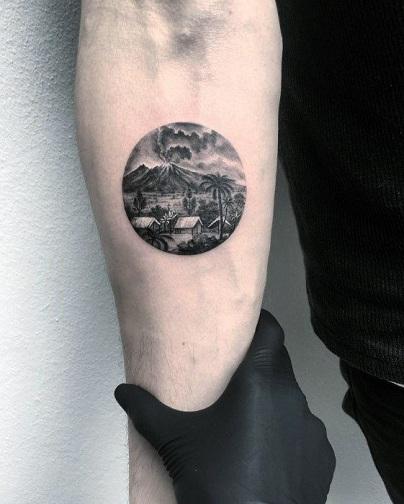 Creative Round Tattoo ideas