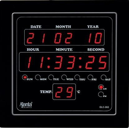 Digital Square Clock