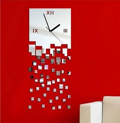 Designer Square Clock
