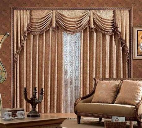 Printed Drawing Room Curtain