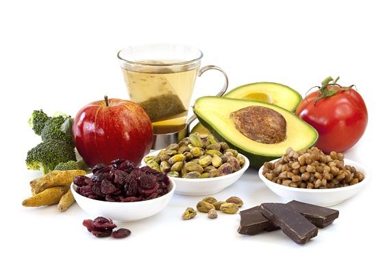 Antioxidants Rich Food