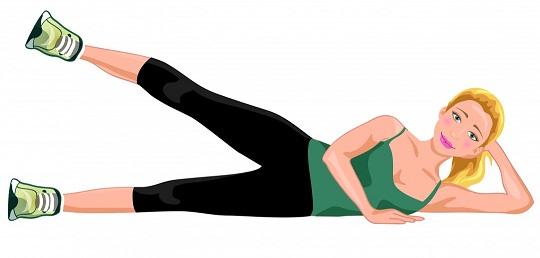 Side Lying Leg Lifting