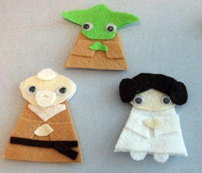 Star Wars Finger Puppets