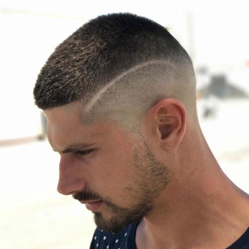 High Buzz Cut Fade Zero Cut Hairstyle