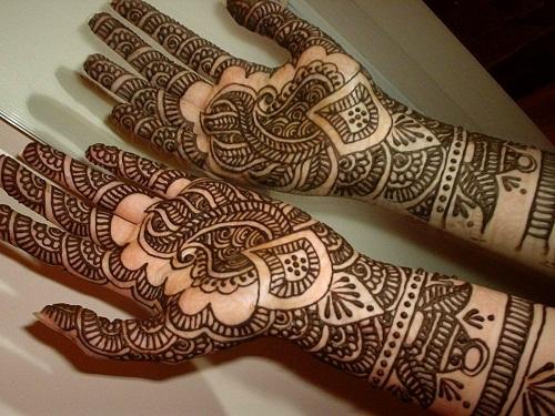 Indian Mehendi Design for Diwali