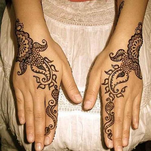 karwa chauth henna