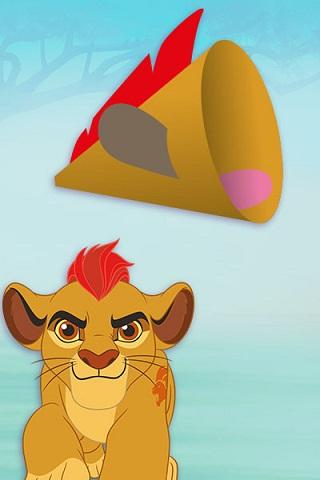 Lion Megaphone Craft