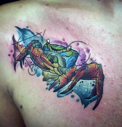 Crab Creature Tattoo