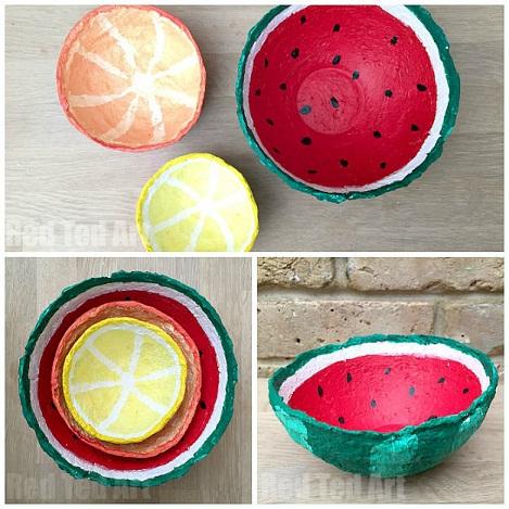Fruits Crafts for Summer