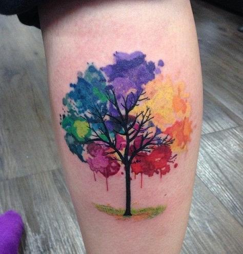 Incredible Watercolour Tattoo Design