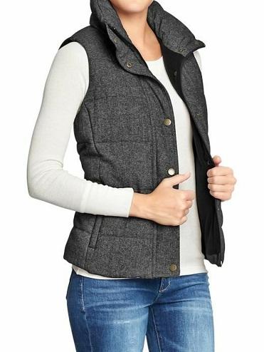 Grey Tweed vest