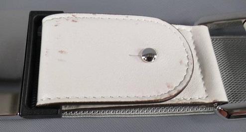 white-elastic-belts