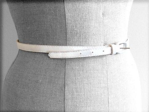 thin-white-elegant-waist-belt