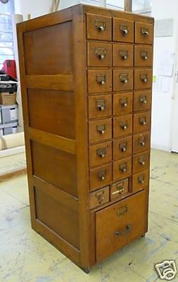 Vintage Office Filling Cabinets