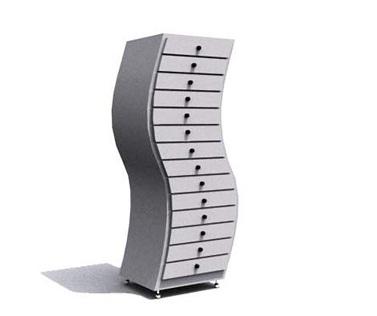 Stylish Unique Shape Filing Cabinets