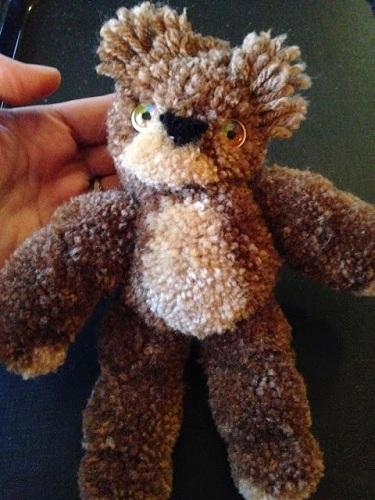 PomPom Teddy Bear