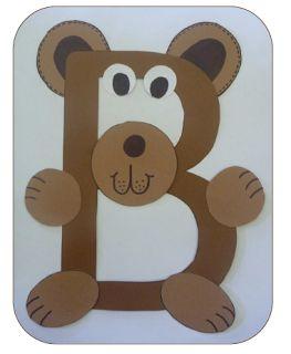 Alphabetical Teddy Bear