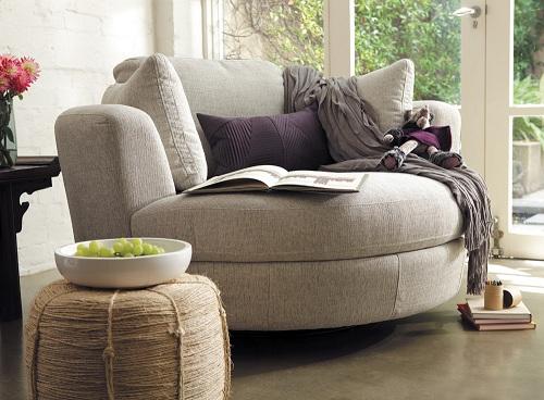Swivel Reading Chair