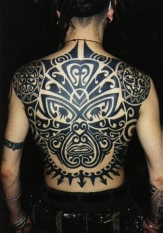 Full Body Tribal Back
