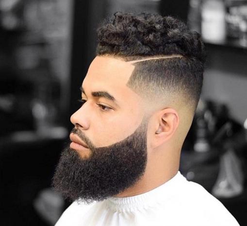 The Arabic Style High Top Hair