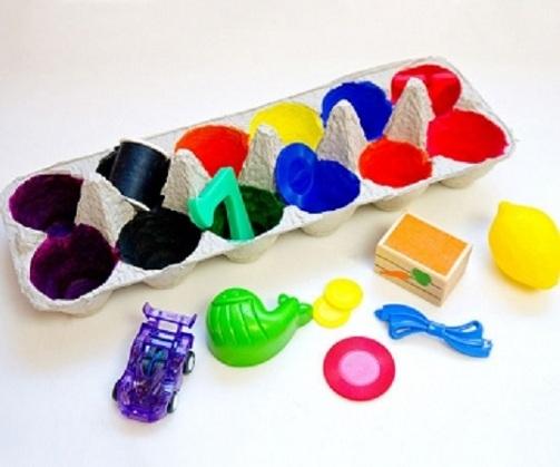 Egg Craft Color Matching kids Game