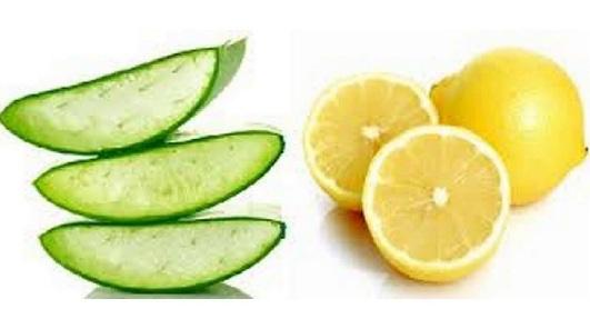 aloe vera and lemon for dandruff