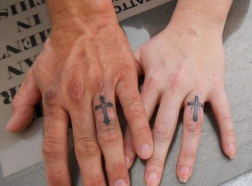 Inspiring Wedding Ring Tattoo Designs