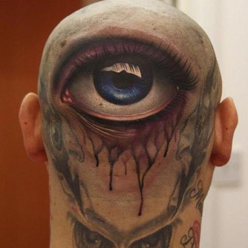 Body Parts Illusion Tattoos Designs