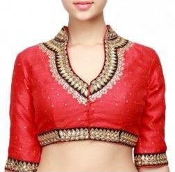 Collar neck blouse design -9