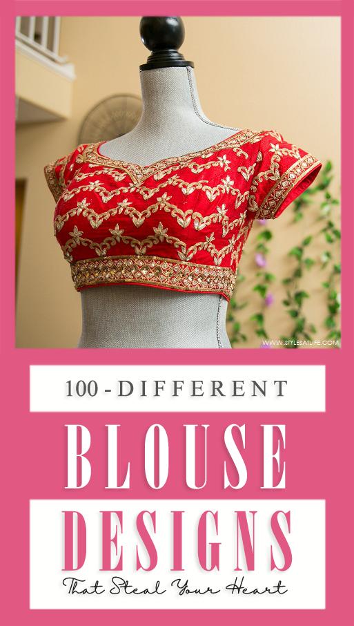 Different Blouse designs
