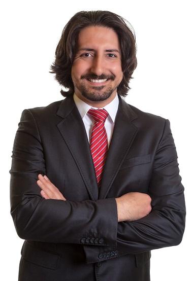 Shoulder-Length Hairstyle for Men