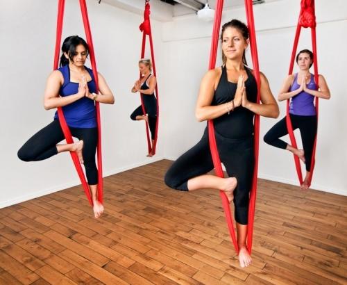 Aerial Yoga Techniques