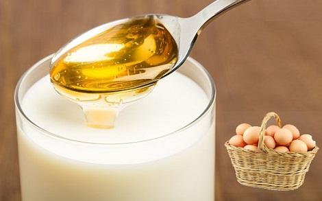 Honey, Milk And Egg Can Cure Alopecia Areata