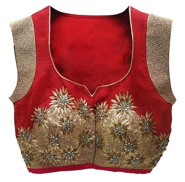 Beautiful Blouse front Neck Design