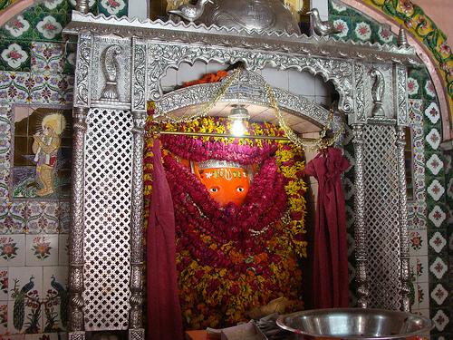Aliganj Hanuman Temple