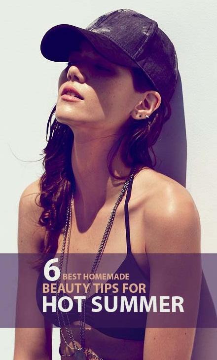 Best Homemade Beauty Tips For Summer