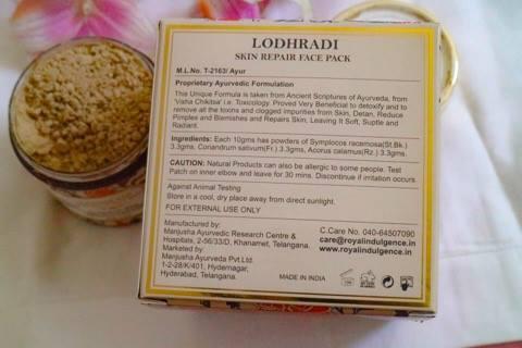 Best Lodhradi Face Packs For Damaged Skin Repair