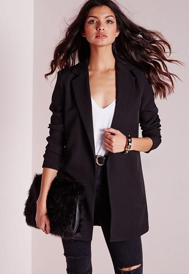 Long Black Blazer Women