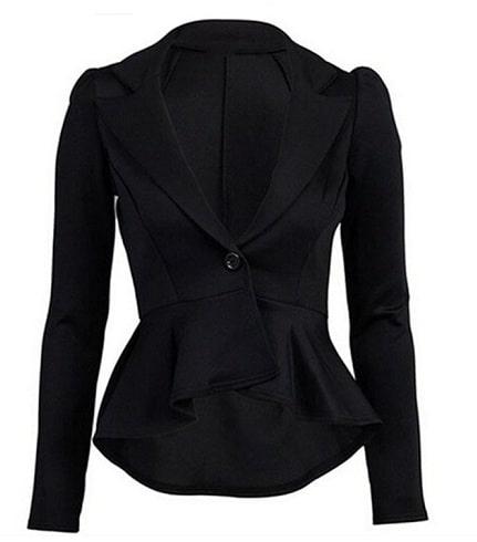 Short Black Blazer Women