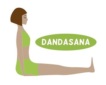 Dandasana (Staff Pose) - How To Do And Benefits